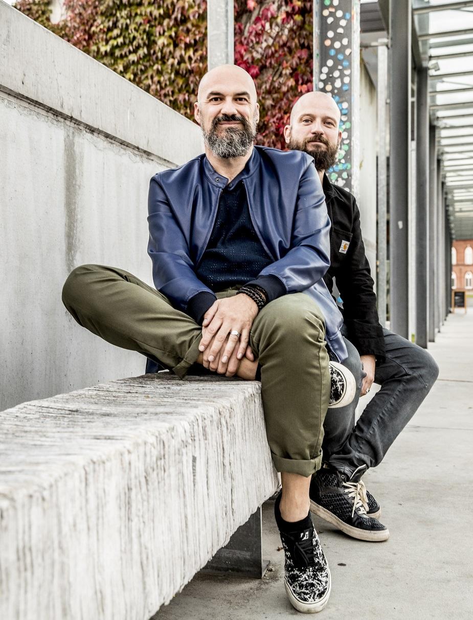 Frederik Vandewiele en Koen klein
