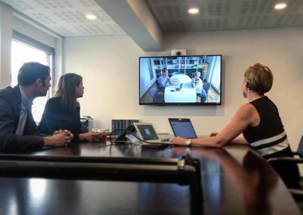 Videoconferentie crop